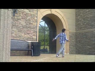 Unbelievable Dubstep Dance Skills (Foster The People - Pumped Up Kicks) Butch Clancy Remix